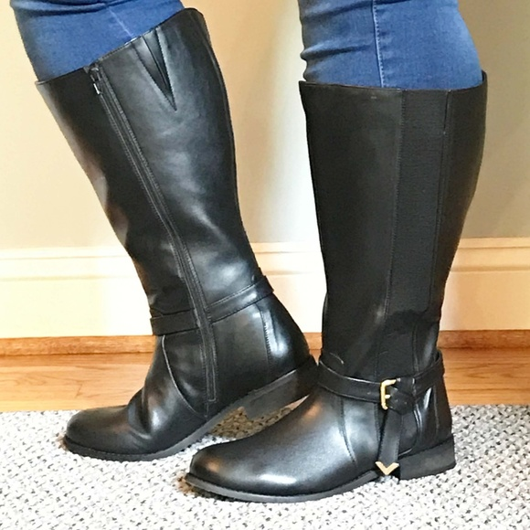 7378ef61259 Legroom Shoes - Legroom Wide Calf Boots Size US 10   EU 41